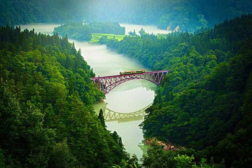 No. 1 Tadami Bridge View Spot