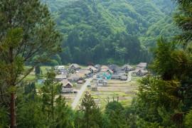 Historic Maezawa Farmhouses In Rural Japan