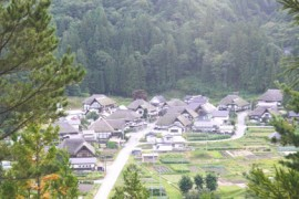 Historic Maezawa Farmhouses In Rural Japan