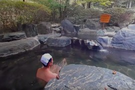360 Degrees Onsen Hot Spring Video