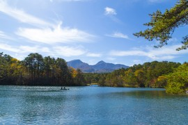 Goshiki-numa's Breathtaking Blue Lakes