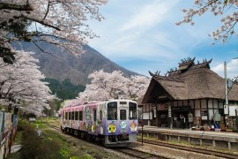 Yunokami Onsen In Spring