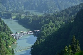 Guide to Visiting the Famous Tadami River Bridge Viewpoint