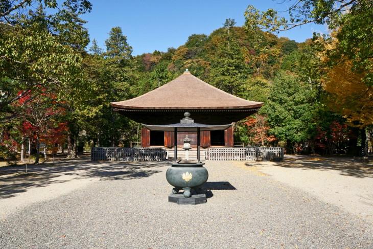 Shiramizu Amidado Temple in Iwaki
