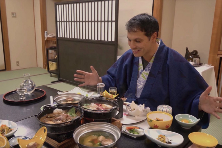 Ryokan Hotels and Local Cuisine