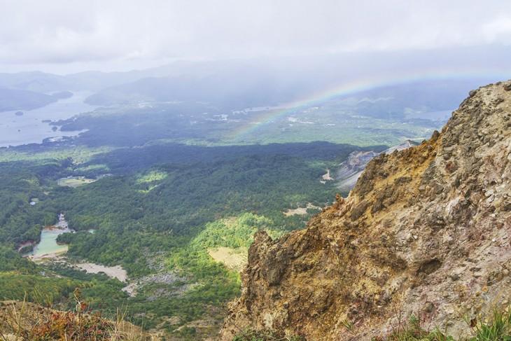 Hiking Mt. Bandai