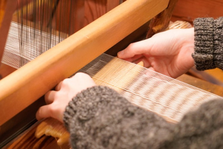 Trying Out Ramie Weaving in Showa Village