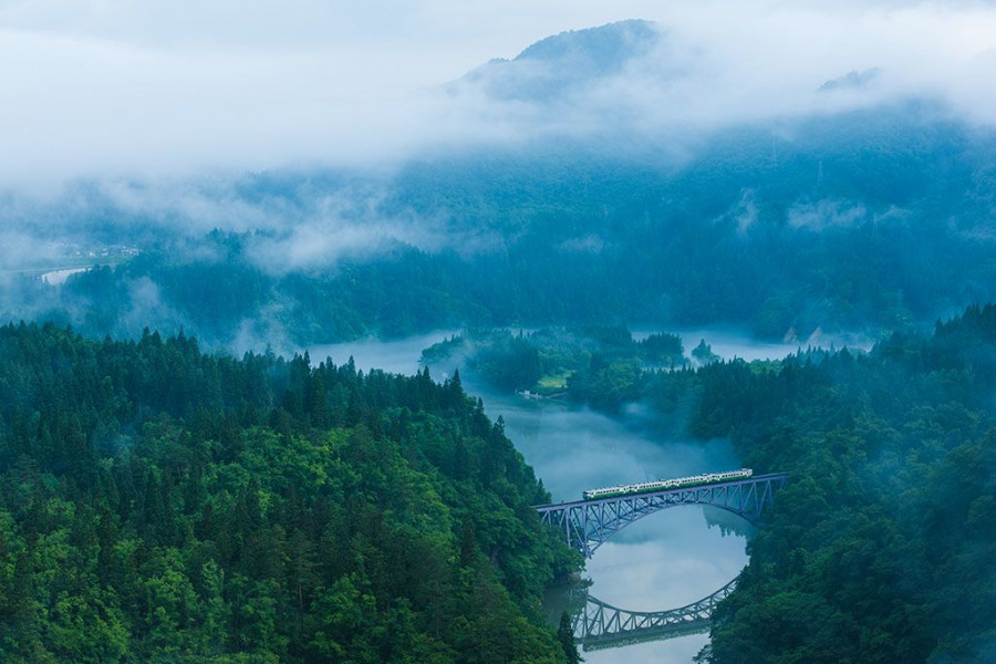 No. 1 Tadami Bridge View Spot