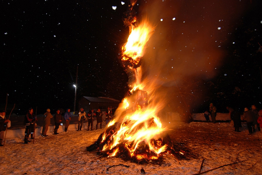 Mishima Snow and Fire Festival