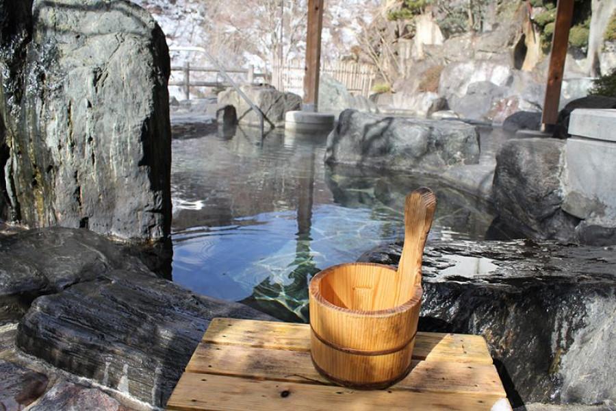 汤野上温泉