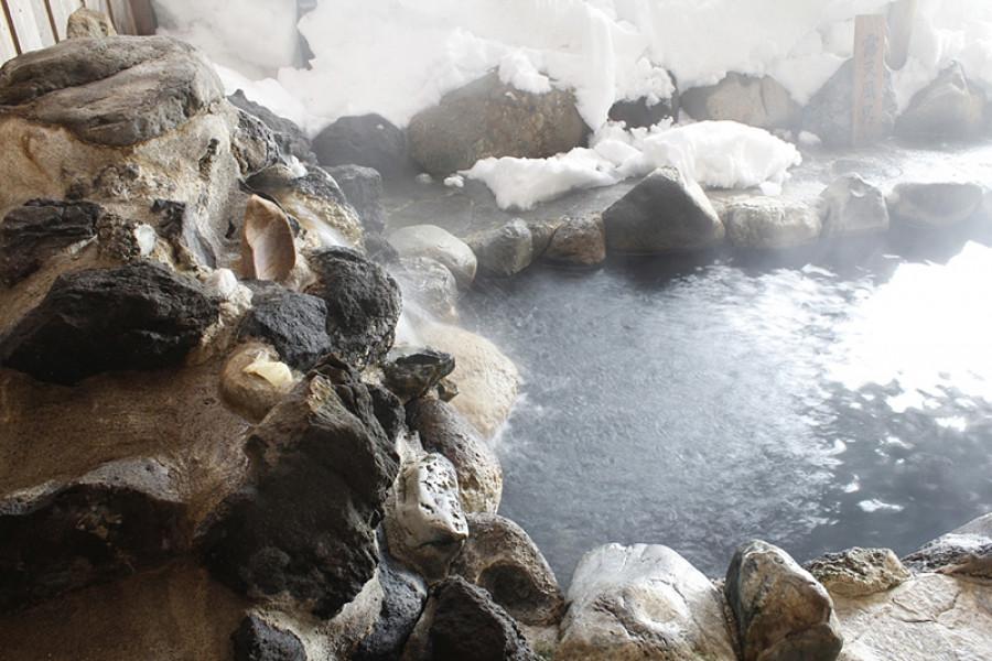 Suối nước nóng Atsushio Onsen