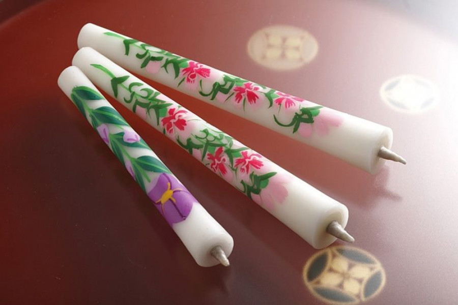 Aizu Painted Candles Craft Experience