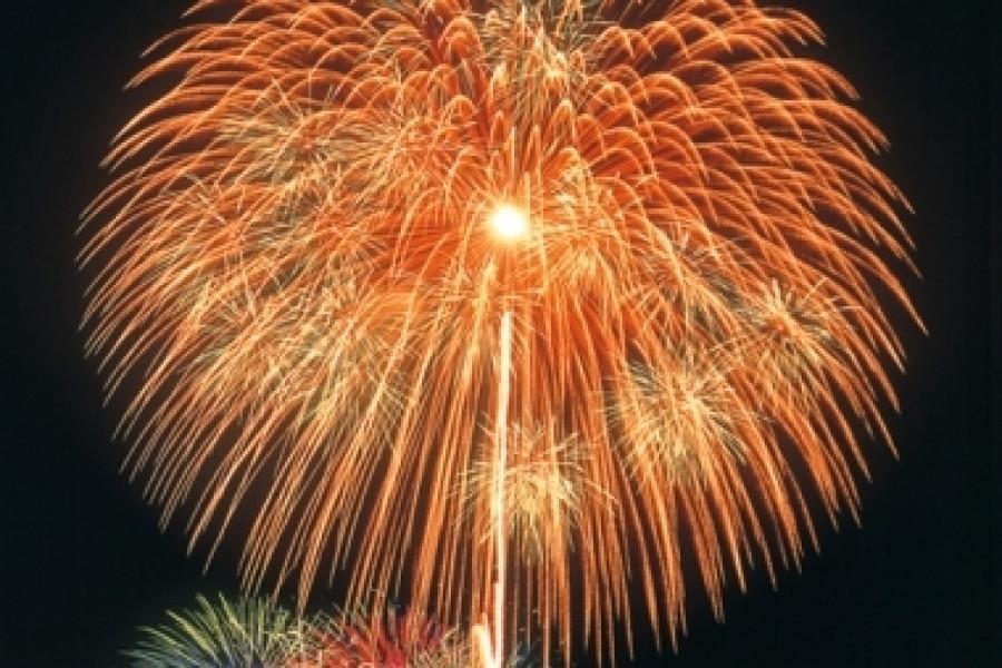 Sukagawa Shakadogawa Fireworks Festival