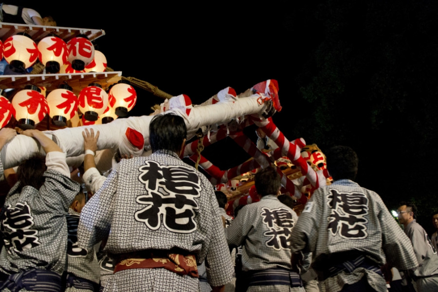Iizaka Kenka Matsuri (Iizaka Fighting Festival)