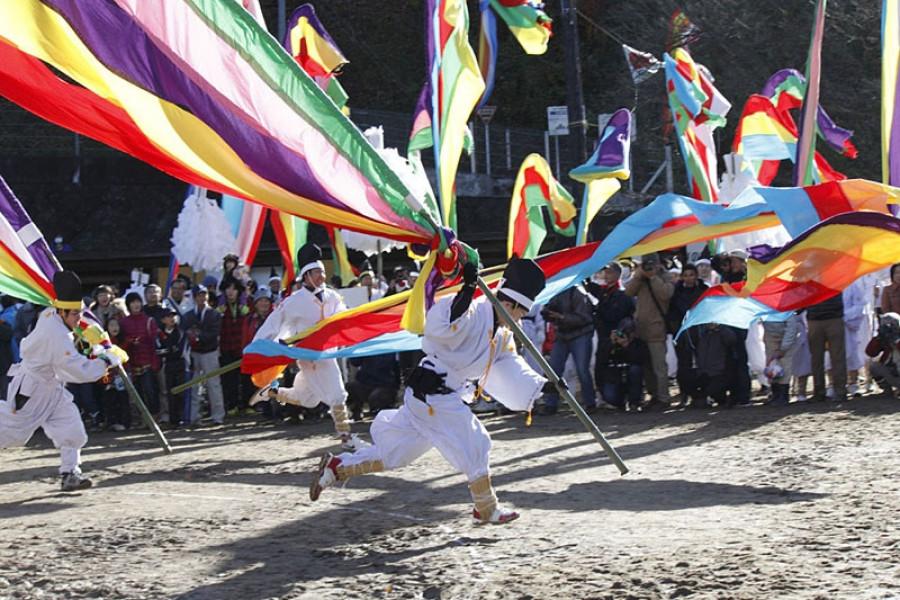 Kohata Hata Matsuri (Kohata Flag Festival)