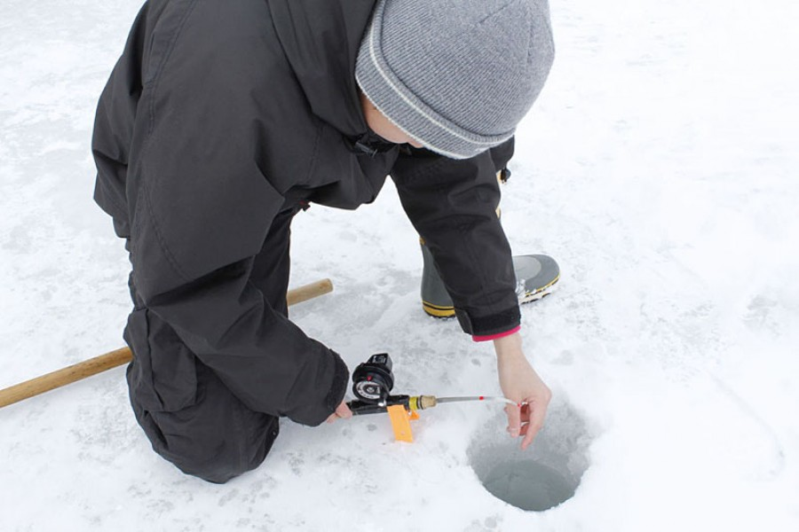 Smelt Ice Fishing