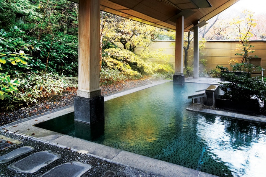 Suối nước nóng Bandai Atami Onsen
