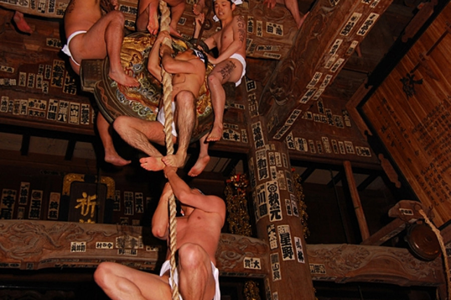 나노카도하다카마이리 축제