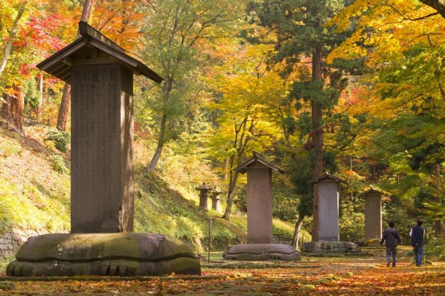 松平家墓地