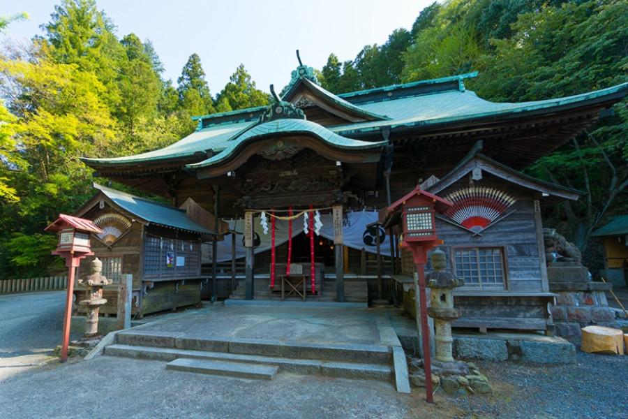 温泉神社(磐城湯本)