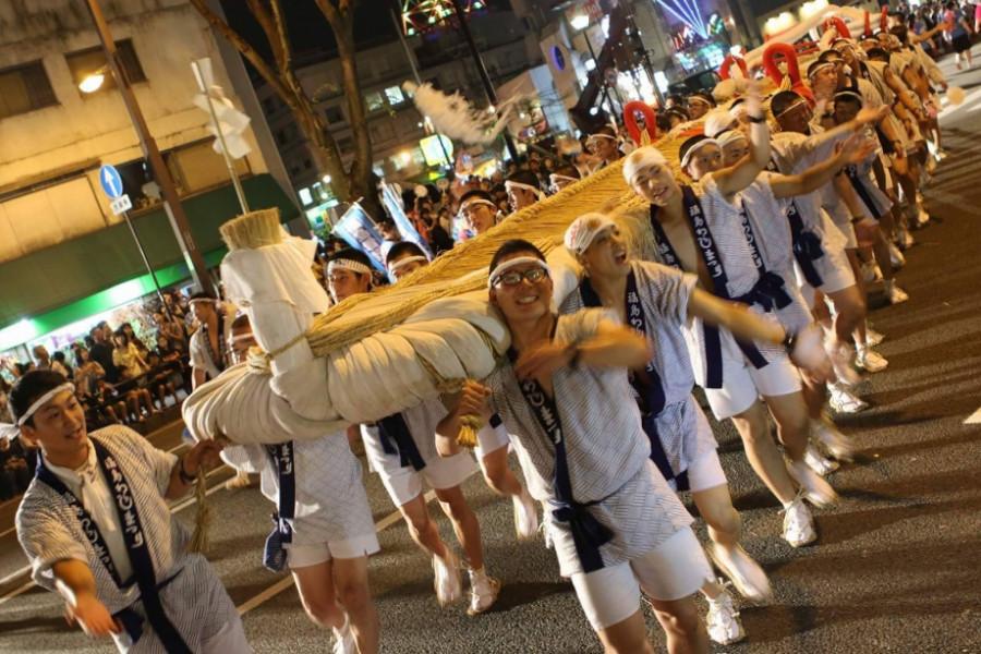 福岛草鞋祭