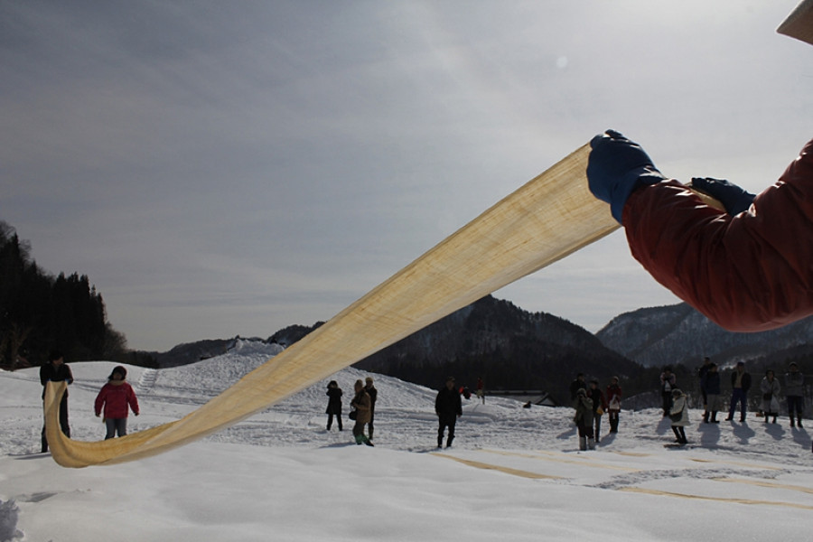 Karamushi Ori-no-Sato Snow Festival
