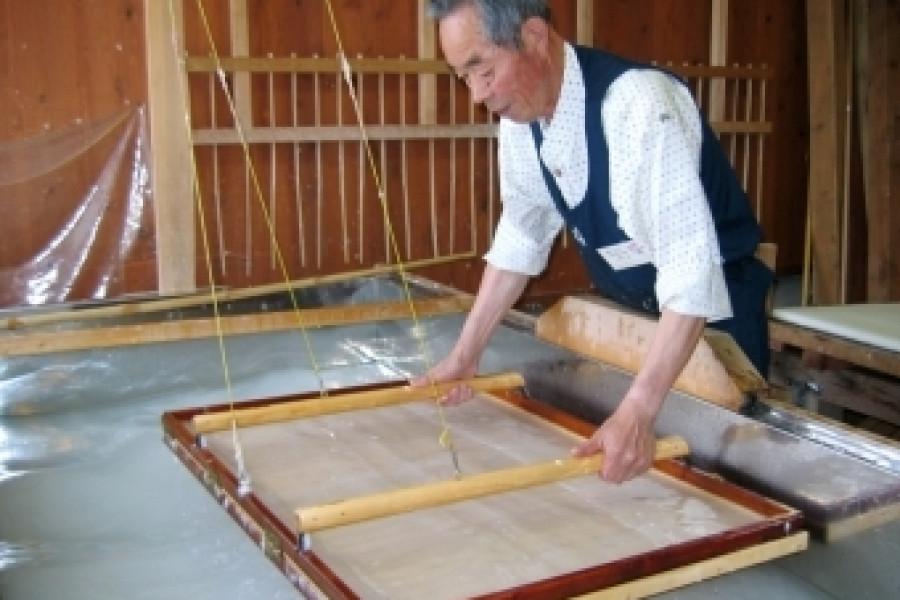 Kami-Kawasaki Washi (Handmade Japanese paper made in Kami-Kawasaki in Nihonmatsu City)