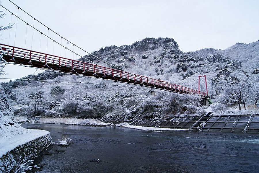Ayu Suspension Bridge