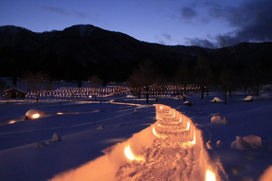 나카야마 세쓰게카 눈축제